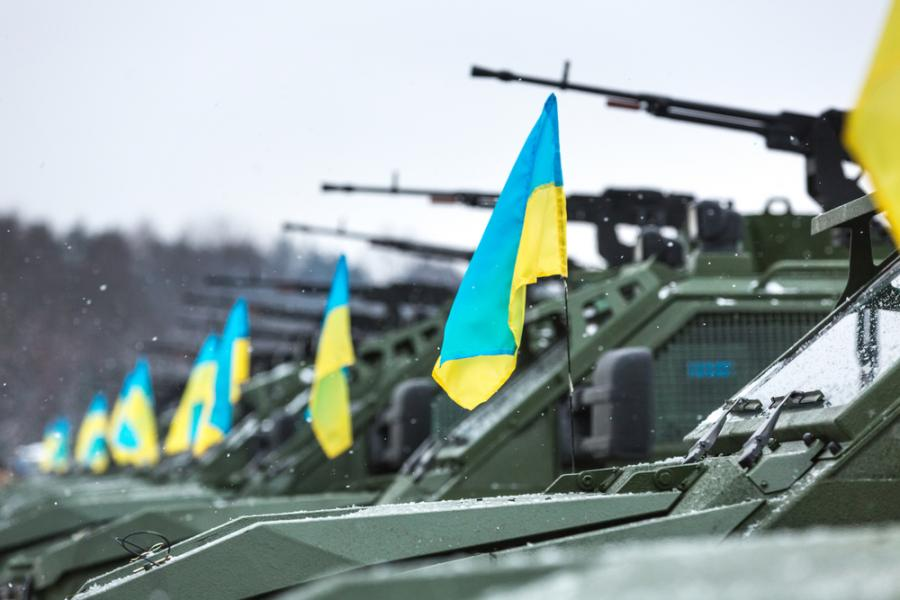Ukraina, transportery opancerzone