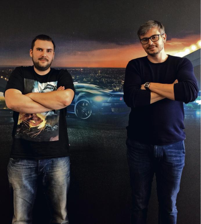Damian Fijałkowski i Grzegorz Zwoliński założyli swoje deweloperskie studio T-Bull w 2010 r.