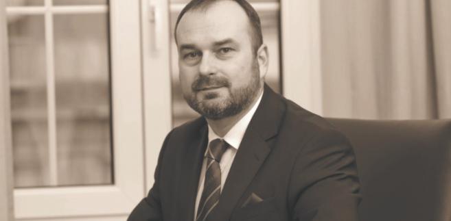 Profesor Maciej Gutowski, dziekan okręgowej rady adwokackiej w Poznaniu, adwokat