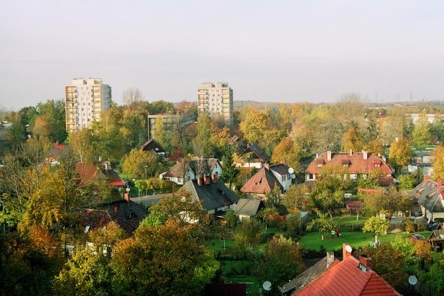 Katowice Giszowiec, miasto, ogród