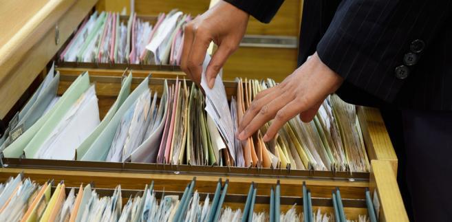 dokumenty, urząd, archiwum