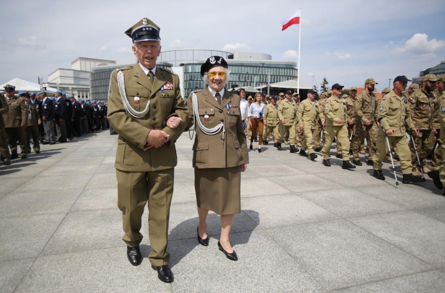 weterani święto w Warszawie