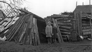 Powojenna bieda. Maków Mazowiecki, 1946 r.
