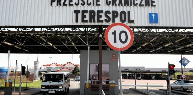Terespol. Granica Panstwa z Bialorusia / Fot. Jakub Orzechowski / Agencja Gazeta