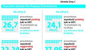 Walka z luka w VAT w liczbach