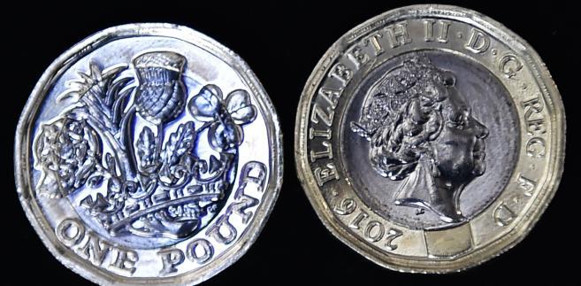Nowa moneta jednofuntowa