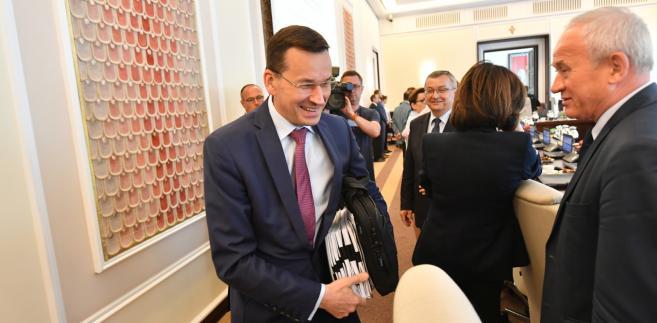 Podczas wtorkowego posiedzenia rządu Morawiecki przedstawia informację w sprawie realizacji Strategii na rzecz Odpowiedzialnego Rozwoju (SOR).