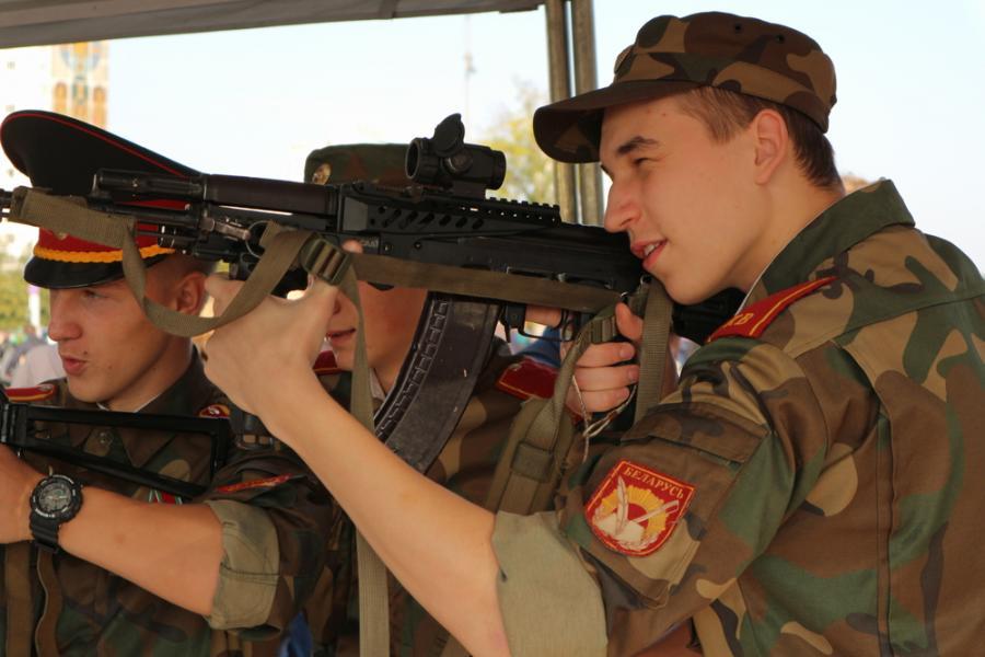 Białoruscy żołnierze, Białoruś, zapad  2017