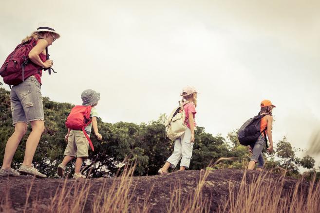 Dzieci na wycieczce