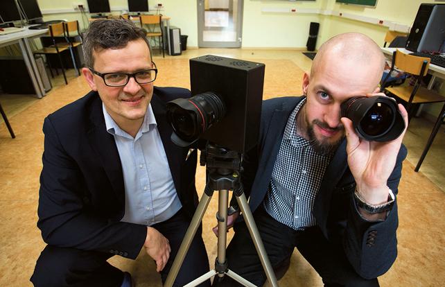Przemysław Sękalski (L) i Marcin Chojnacki (P)