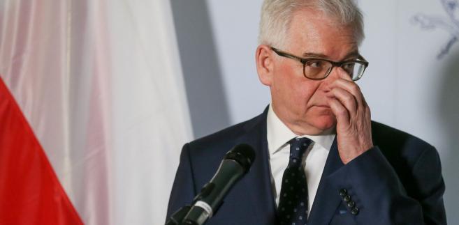 Czaputowicz potwierdził, że na szczeblu rządowym trwają rozmowy między Polską a Izraelem