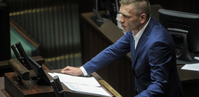 Poseł PO Bartosz Arłukowicz w Sejmie