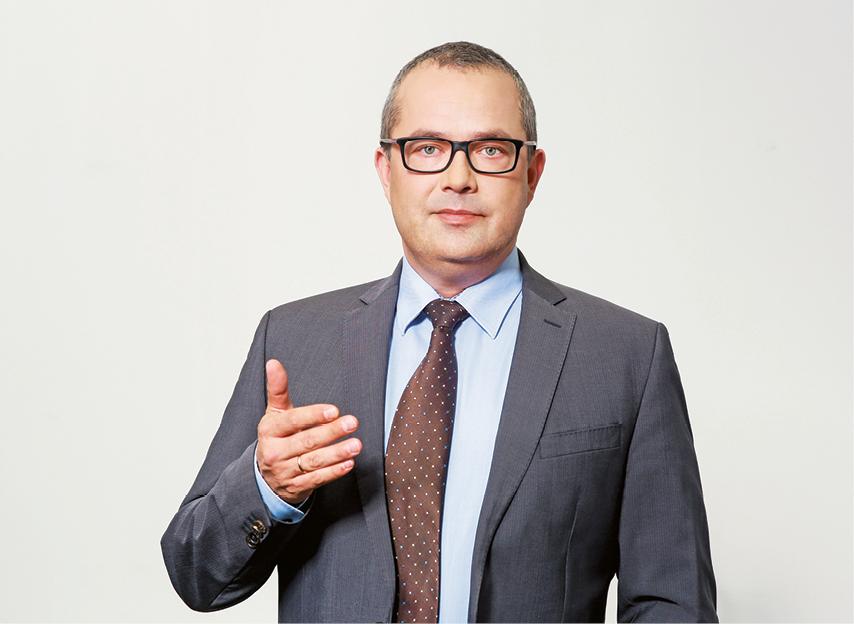 Wojciech Śliż, dyrektor departamentu podatku od towarów i usług w Ministerstwie Finansów