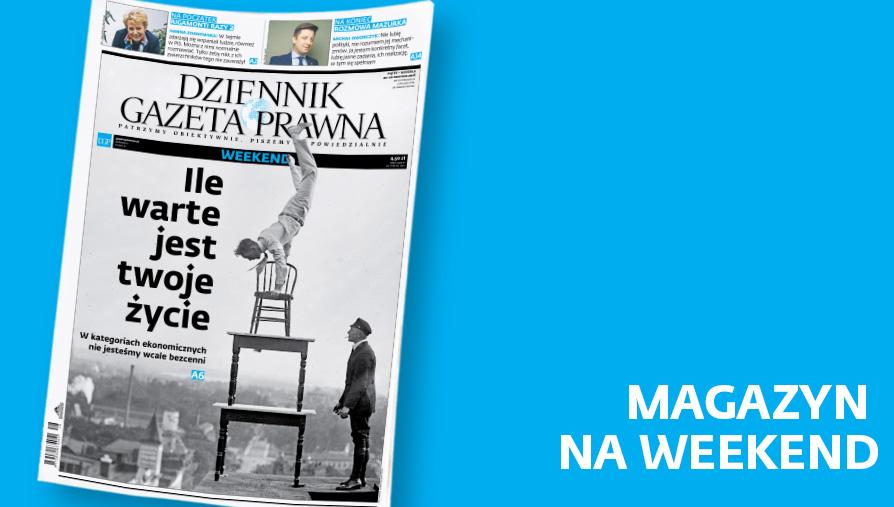 Magazyn okładka 20 kwietnia