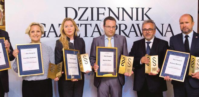 Od lewej: Stanisław Zabłocki, Karolina Kędziora, Jolanta Budzowska, Martin Pfnür, Bogumił Kuś, Bartosz Biernat i Krzysztof Jedlak