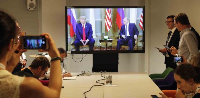 Spotkanie Trumpa z Putinem