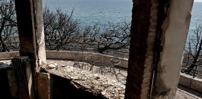 Tegoroczne lipcowe pożary w Grecji należały do najtragiczniejszych w skutkach w Europie w XXI wieku.
