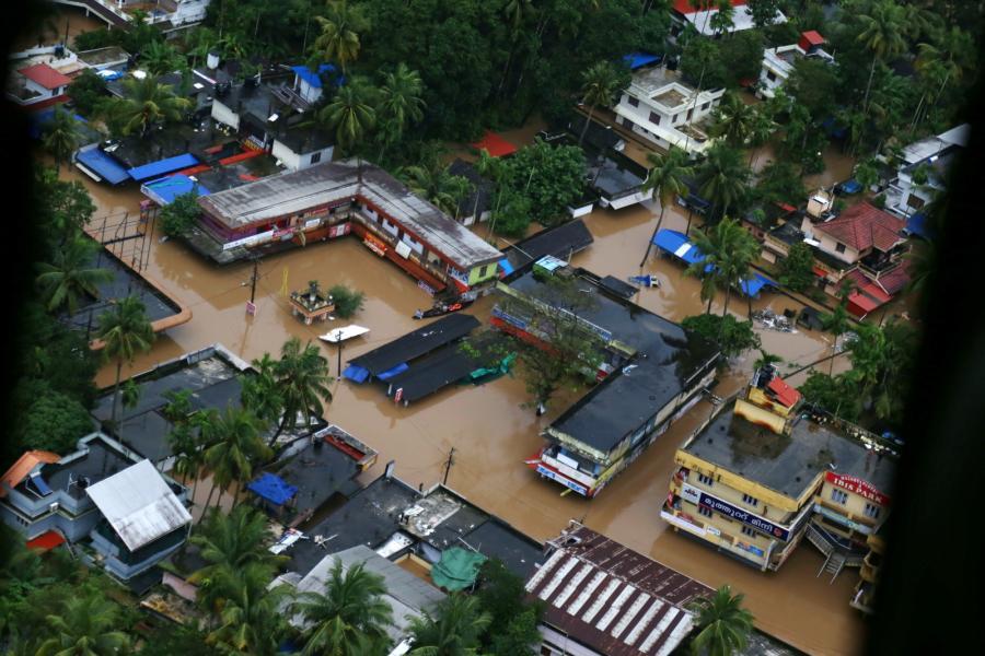 Powódź w Kerali Indie