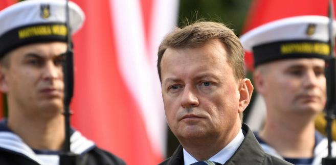 szef MON, Mariusz Błaszczak