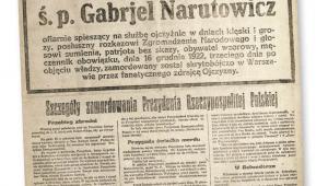 Józef Piłsudski podczas mszy po zajęciu Wilna przez Wojsko Polskie. Na lewo od niego siedzi gen. Edward Śmigły-Rydz, Kwiecień 1919 r.