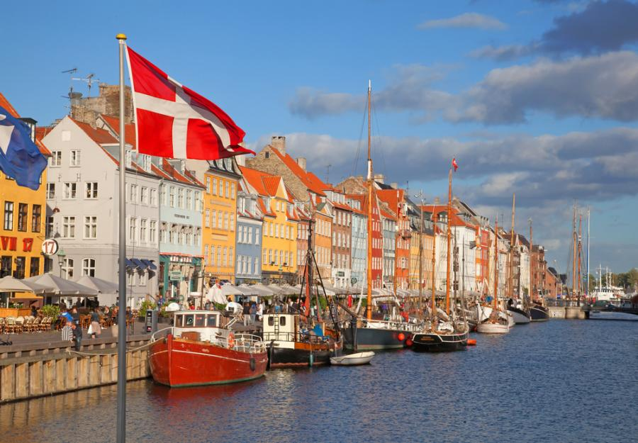 Kopenhaga, dzielnica Nyhavn, Dania