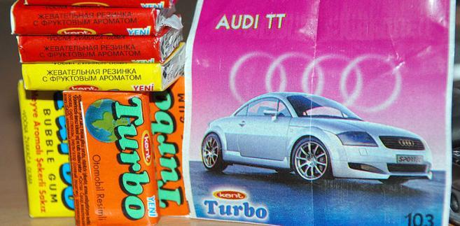 Guma do żucia Turbo