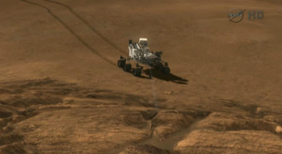 Curiosity. Fot. nasa.gov