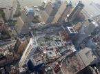 Prace konstrukcyjne nad budową World Trade Center 1 w Nowym Jorku